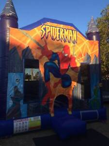 Jumping castle spider-man for hire