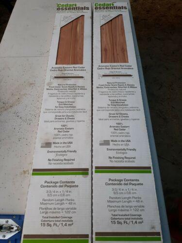 Aromatic Eastern Red Cedar Planking Mildew Resistant Paneling Boards