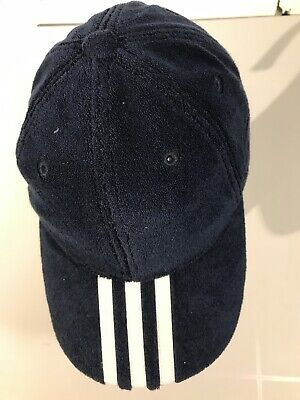 Palace X Adidas Terry Towelling Cap In Navy