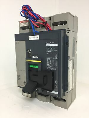 Square D Pll34080m68 Pl 800 Amp Powerpact Circuit Breaker W 800a Trip Shunt