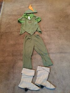 Peter Pan Costume Size 4T