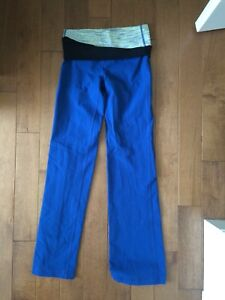 Lululemon blue yoga pants — size 4
