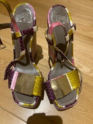 Versace Collection Women Wedges Sandals Summer Shoes Open Toe Designer Flipflops