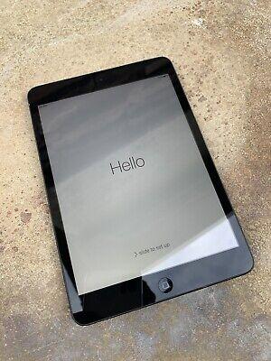 Apple iPad mini. 16GB, Wi-Fi + Cellular (Unlocked), A1455, 7.9in - Black
