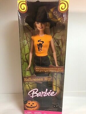 Barbie Halloween Party (Halloween Party Barbie Doll Hip Modern Witch Rare In Original Packaging,)