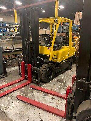 Hyster H60 Diesel 2015 6000 Lb Used Forklift 8k Hours