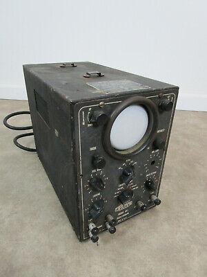 Vintage Triumph Cathode Ray Oscillograph Model 841 Us Navy Obl-3