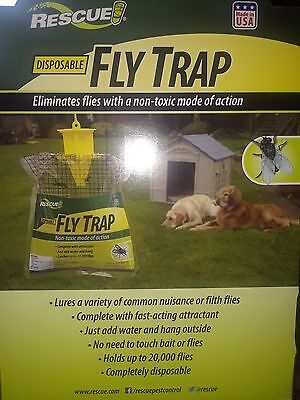 Best working Disposable Fly traps catches up to 20,000 flies , just add