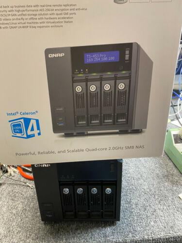 QNAP TS-453 Pro 4-Bay With 8 TB storage