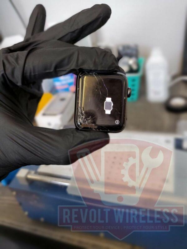 Apple Watch Series 3 Screen Glass Digitizer Replacement Repair Service