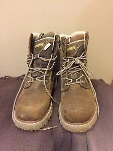 Women's CSA safety boots - size 8