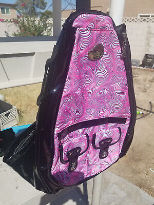 Whak Sak Fresh Tennis Racquet  Fitness  Concerts Sling Backpack New Rucksack