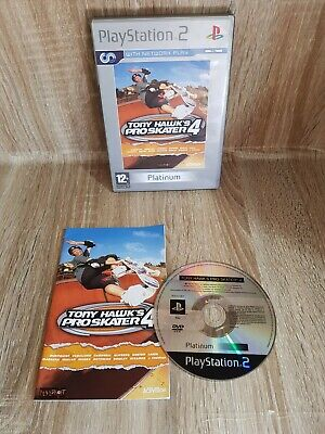 Tony Hawk's Pro Skater 4 (Sony PlayStation 2, 2002)