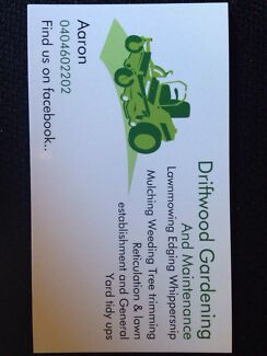 Driftwood Gardening and Maintenance Parmelia Kwinana Area Preview