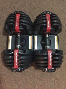 Adjustable Bowflex Weights