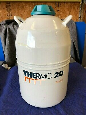 Thermo Liquid Nitrogen Ln2 Portable Cryogenic Tank Model Thermo 2