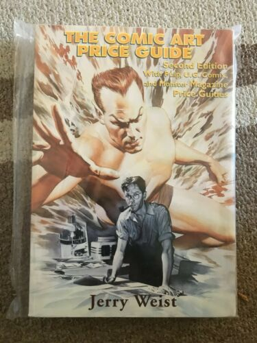 Jerry Weist ORIGINAL COMIC ART Price Guide 2000 First Arcturian Book @ 569 Pages