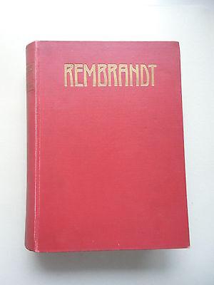 Rembrandt des Meisters Gemälde in 643 Abbildungen Klassiker der Kunst 2. Bd.1908