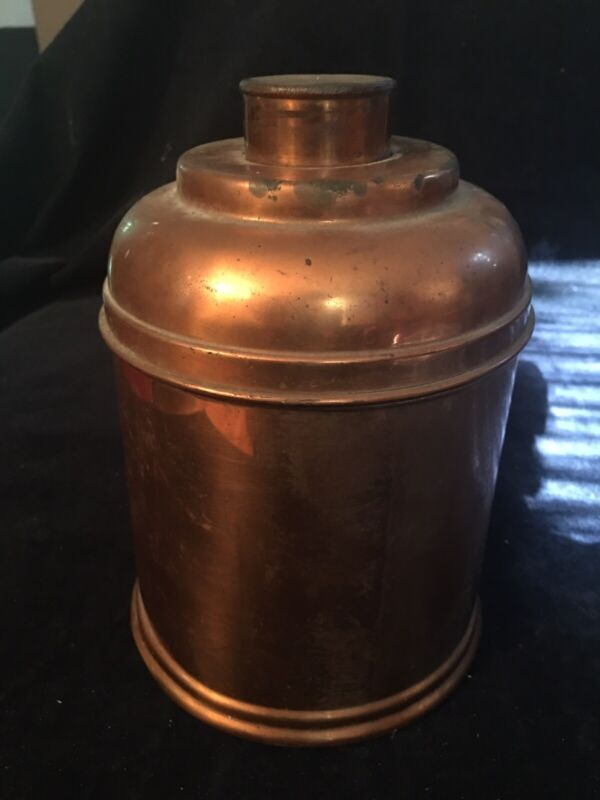 Vintage Copper Rumidor Corp, NY City Humidor Cigar Tobacco Products Collectibles