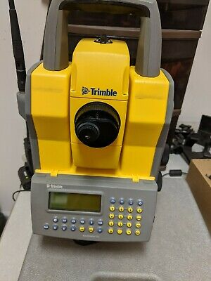 Trimble Robotic Total Station With Ti-pod And Rods
