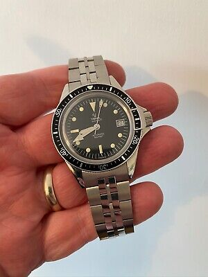 YEMA SUPERMAN HERITAGE Divers watch 39mm version on bracelet Excellent condition