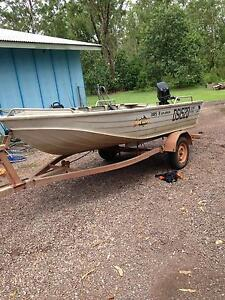 3.85m quintrex explorer tinny 25hp Howard Springs Litchfield Area Preview