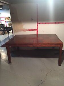 Dinning Room Table; solid wood