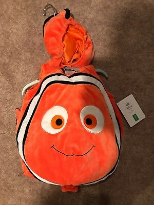 Finding Nemo Disney Store Halloween Costume 3-6 Months Infant Childrens Baby NWT](Nemo Infant Costume)