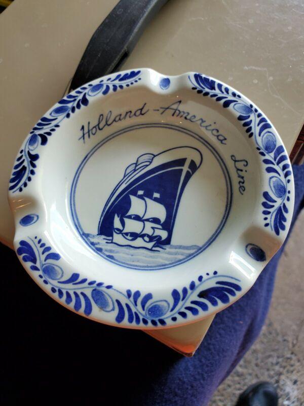 Holland America Line Eare Vintage Ashtray Number