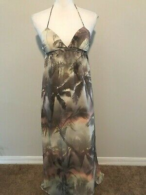 - O'Neill Ladies Sundress  Palm Trees Beach Sz XS Women's