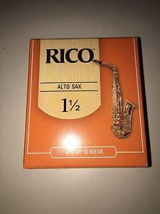 Alto saxophone reeds - pack of 9 Mosman Mosman Area Preview