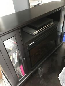 Knightwood Fireplace TV Stand $200obo