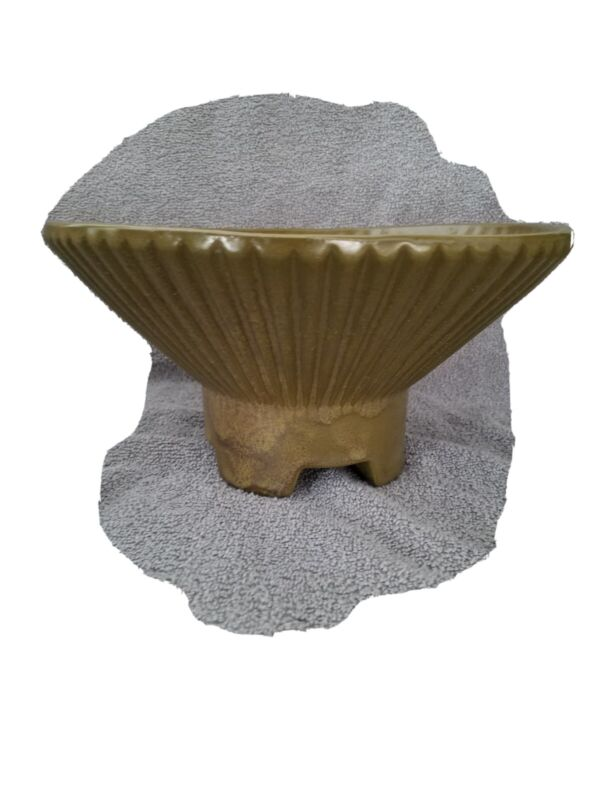 """VTG Art Deco UPCO #422 Atomic Footed Flying Saucer Bowl """"Marked"""""""