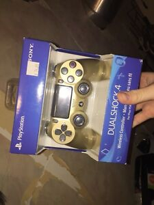 Gold Sony PlayStation 4 Wireless Controller (Unused)
