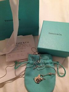 Tiffany and Co. necklace and pendant