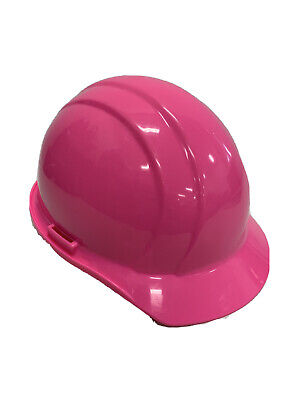 Erb 19769 Americana Cap Style Hard Hat With Slide Lock Flourscent Pink