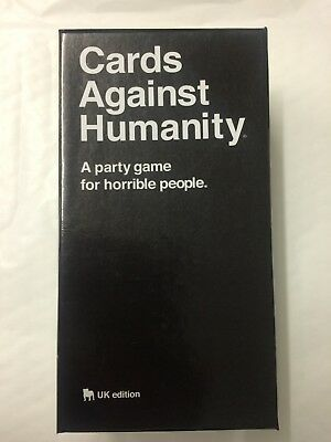 Cards Against Humanity UK edition 550 Card Full Base Set Pack Party Game NEW