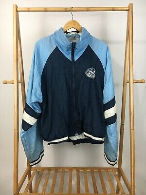 Full Zip Heels (VTG Chalk Line Men's UNC Tar Heels Full Zip Track Windbreaker Jacket Size L)