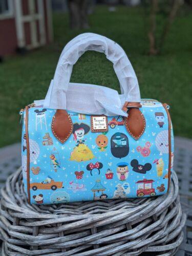 Disney Parks Dooney & Bourke Satchel Bag by Jerrod Maruyama Annual Passholder II