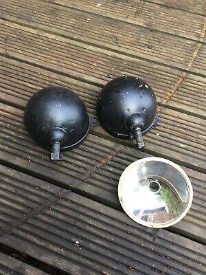 Possibly Morris Minor Vintage Head Light backs Spares or repair.
