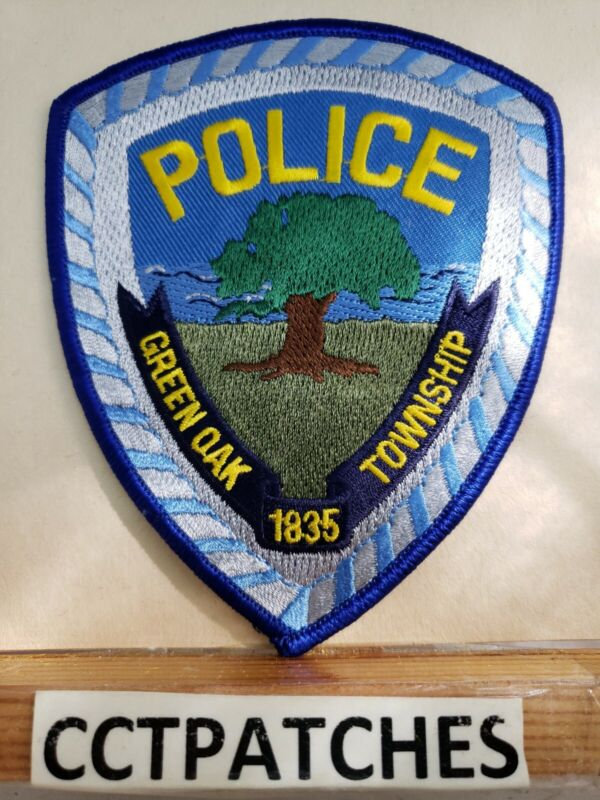 GREEN OAK TOWNSHIP, MICHIGAN POLICE SHOULDER PATCH MI