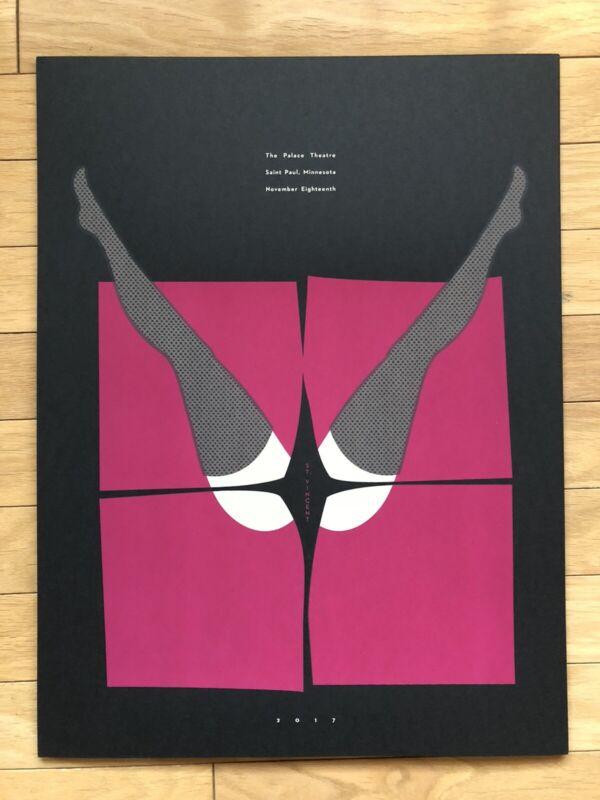Official St. Vincent Concert Poster Screenprint