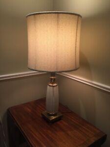 Vintage Lamp - Stiffel Regency - Signed Lenox Porcelain- MCM