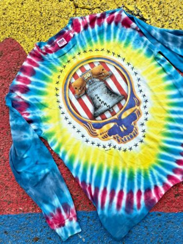 VTG 1994 Grateful Dead Spectrum 50 Philadelphia Concert Graphic Tie Dye shirt XL