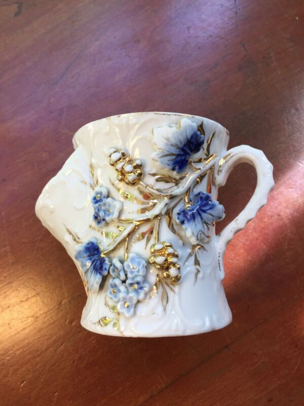 Vintage Flow Blue Porcelain Late 1800