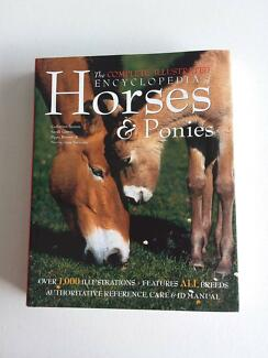 THE COMPLETE ILLUSTRATED ENCYCLOPEDIA OF HORSES & PONIES