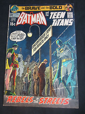 Batman and the Teen Titans Mar 1971 DC Brave and Bold No. 94 7.0
