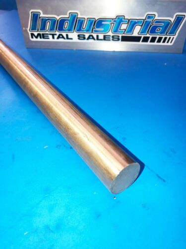"1""Dia x 12""-Long 932 Bronze Round Bar-->1.0"" Diameter 932 Bronze Round Rod"