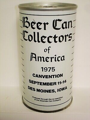 """BCCA 1975 CANVENTION """"WHITE"""" S/S (IOWA HAWKEYE CHAPTER) CAN T218"""