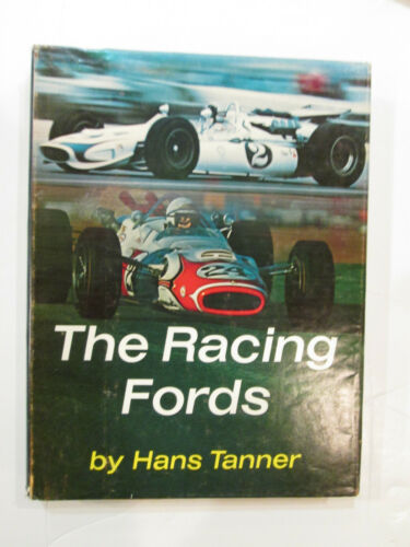THE RACING FORDS 1968 HARDCOVER BY HANS TANNER